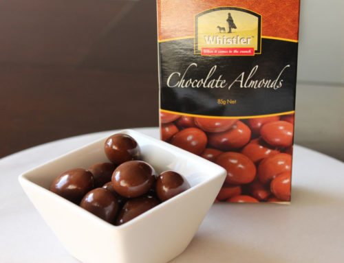Whistler Foods chocolate covered almonds box bulk
