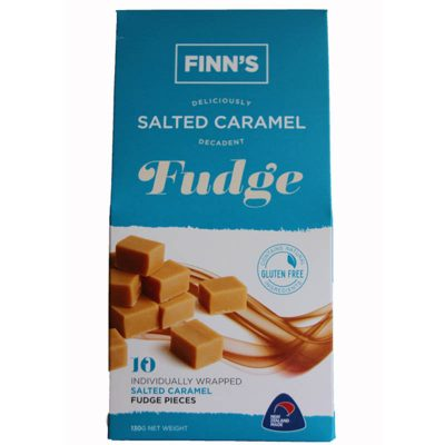 Finns-caramel-salt-fudge-pack wholesale Whistler Foods