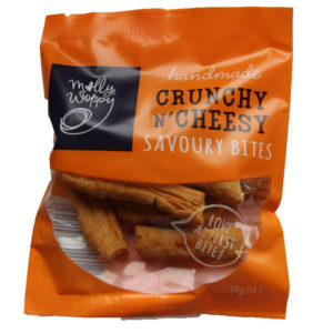 Molly Woppy Crunchy N' Cheesy Savoury Bites