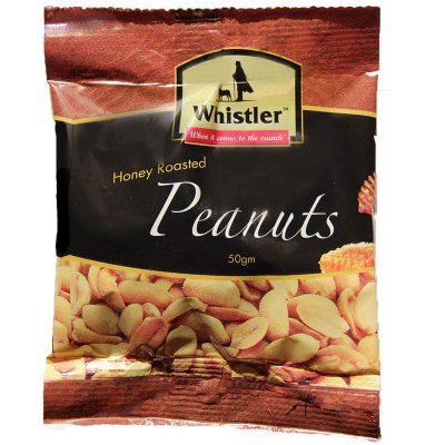 Honey roasted peanuts Whistler Foods NZ