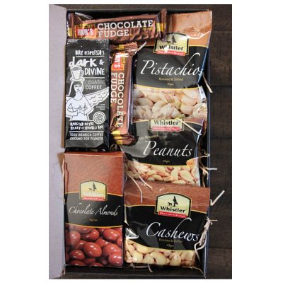 The Grazer combo snack hamper box Whistler Foods prod