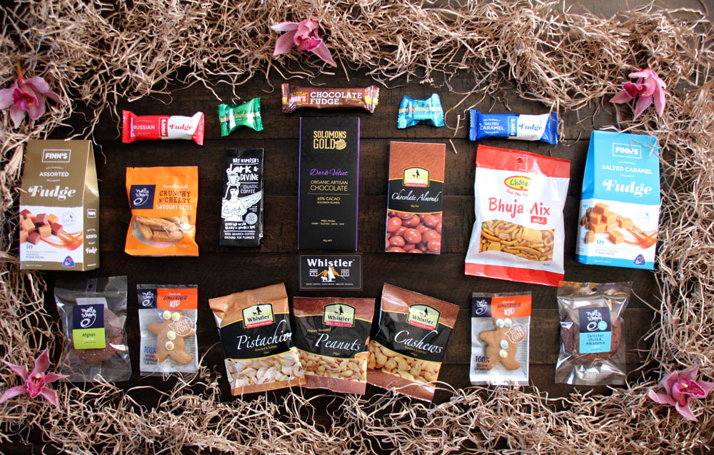 Whistler snack foods wholesale nuts chocolate savoury biscuits cookies fudge