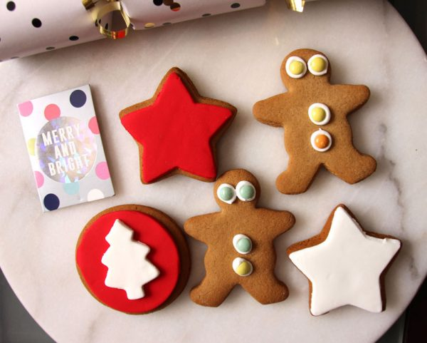 Molly Woppy Christmas Gingerbread men stars cookies Whistler Foods NZ